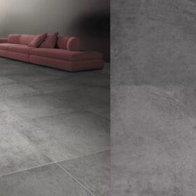 Flaminia beton grey 60x60-betonlook tegels-Vlagsma tegelwalhalla