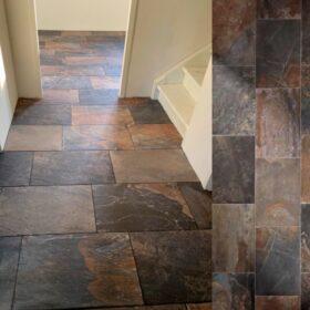 Unicom starker-Slate multicolour-keramisch natuursteen-Vlagsma tegelwalhalla