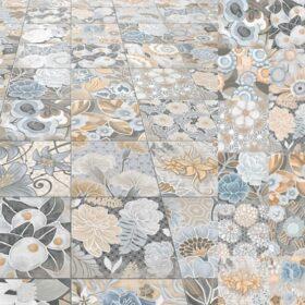 Vives flore gris-Vlagsma tegelwalhalla