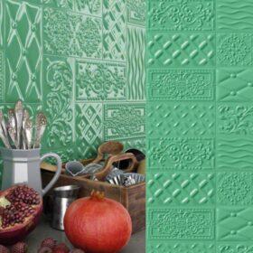 Vives raspail oliva-10x20-patchwork-Vlagsma tegelwalhalla