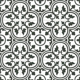 Vintage Ceramic arte white Vlagsma tegelwalhalla