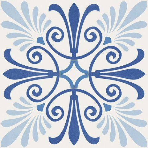 Aparici moving blue bij Vlagsma tegelwalhalla