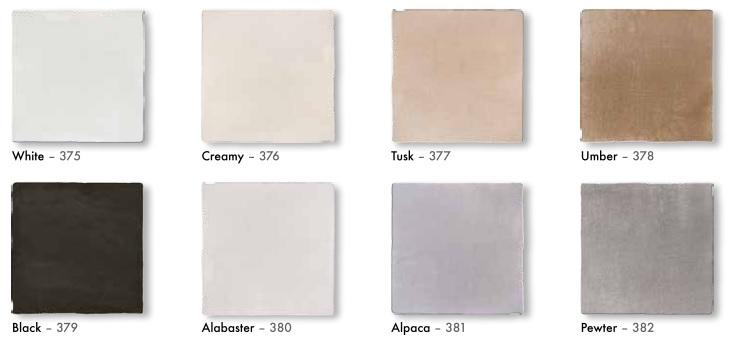 Nanda cementum white 13x13