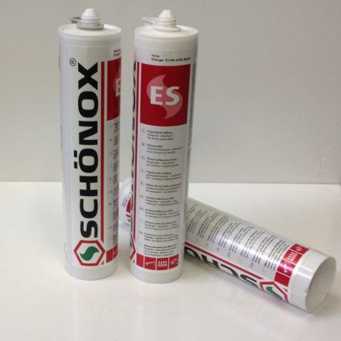 Schönox ES siliconenkit wit
