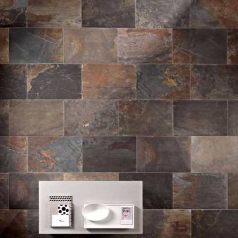 Unicom Starker Natural Slate Multicolor bij Vlagsma tegelwalhalla