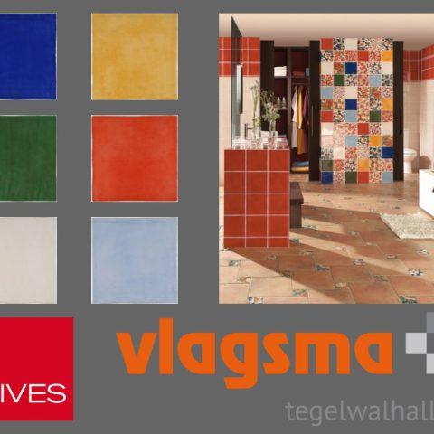 Vives Aranjuez bij Vlagsma tegelwalhalla