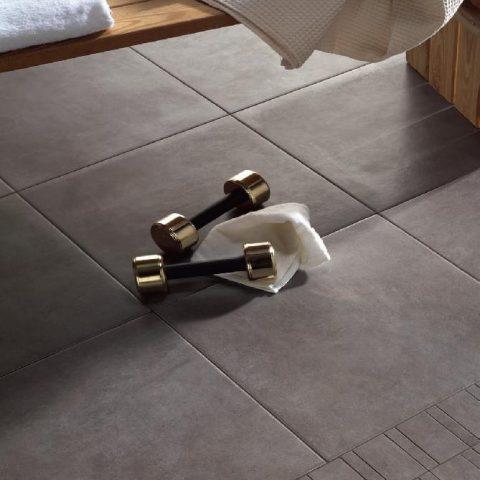 Ripuliture Ceramica Soft Antracite 45x45 bij Vlagsma tegelwalhalla