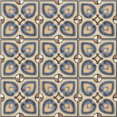 Sant agostino patchwork colors 2-20x20-Portugese tegels-Vlagsma tegelwalhalla-2