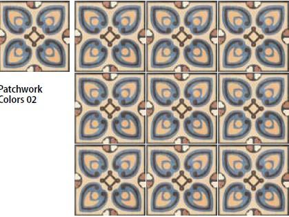 Sant agostino patchwork colors 2-20x20-Portugese tegels-Vlagsma tegelwalhalla-3