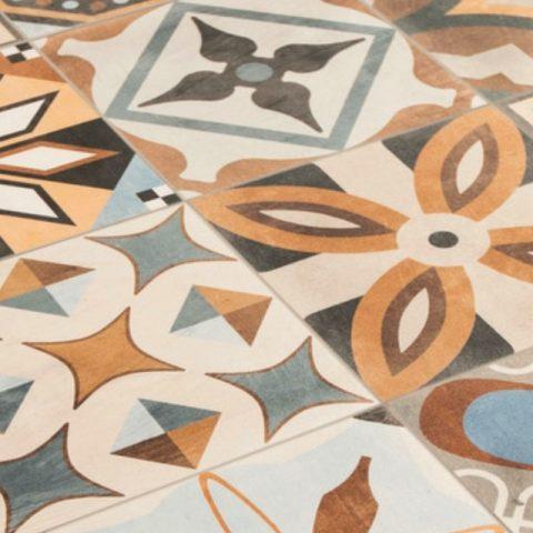 SA-patchwork-colors mix-Vlagsma tegelwalhalla