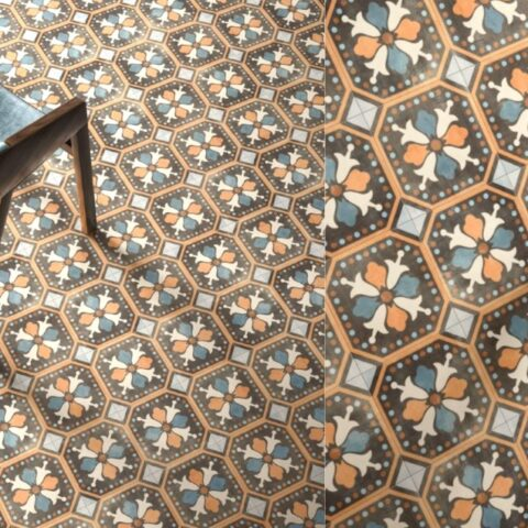 Sant agostino patchwork colors 3-Portugese tegels-Vlagsma tegelwalhalla