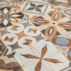 Sant agostino patchwork colors mix bij Vlagsma tegelwalhalla