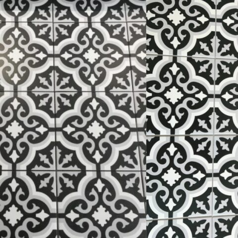 Pasiocs Orly Noir-20x20-Portugese tegels-Vlagsma tegelwalhalla