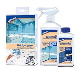 Lithofin reinigerset badkamer bij Vlagsma tegelwalhalla