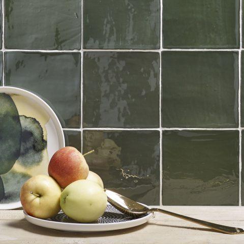 Colli Ceramica Verde bij Vlagsma tegelwalhalla