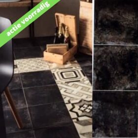 Vloertegel-30x30-tegeloutlet-zwart-Vlagsma tegelwalhalla