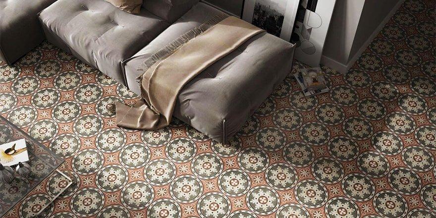 unieke keramische vloertegels