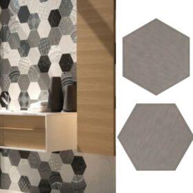 Cifre vodevil gris-Hexagone tegels-Vlagsma tegelwalhalla-4