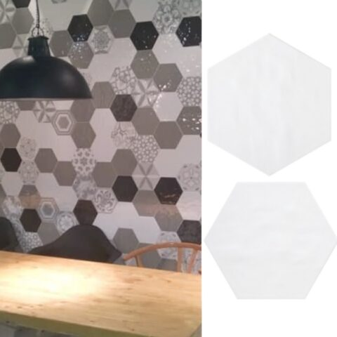 Cifre vodevil white-hexagon tegels-Vlagsma tegelwalhalla-1