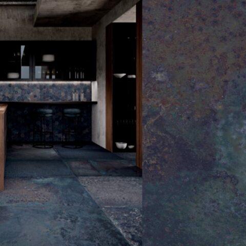 Aparici corten sapphire-60x60-metallic tegels-Vlagsma tegelwalhalla