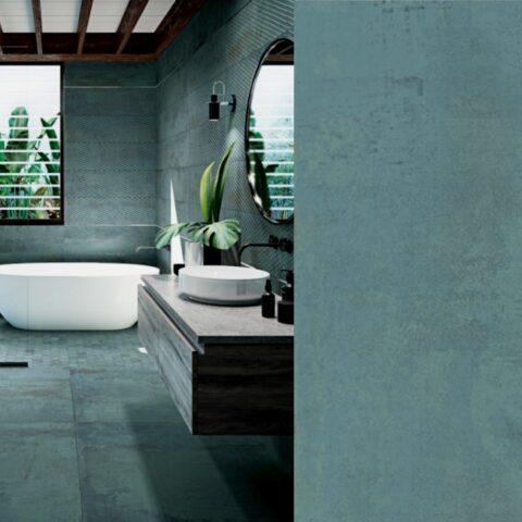 Aparici metallic green-60x60 cm metallic tegels-Vlagsma tegelwalhalla