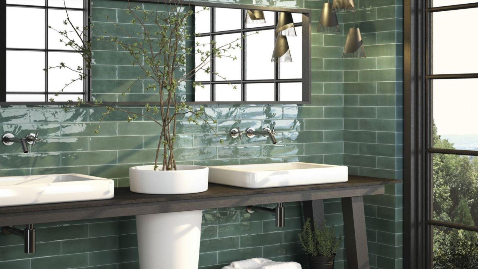 moderne badkamertegels